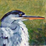 Heron 4:  The Watcher Giclee Reproduction