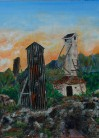 Exploring Cobalt 2 - Mining Head frame Giclee Reproduction