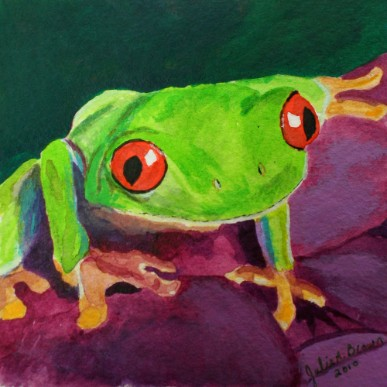 Tree Frog 1 - Giclee Reproduction
