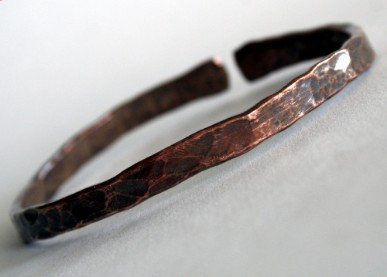 Primitive - Made to Order Copper Cuff by Julie A. Brown