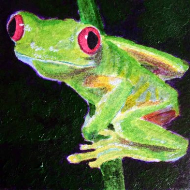 Tree Frog 2 - Giclee Reproduction