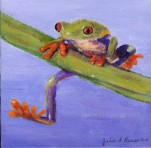 Tree Frog 3:  Hanging In  Giclee Reproduction
