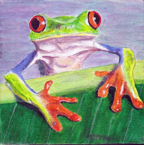 Tree Frog 4 - Giclee Reproduction