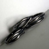 Group of Sterling Silver Twig Rings